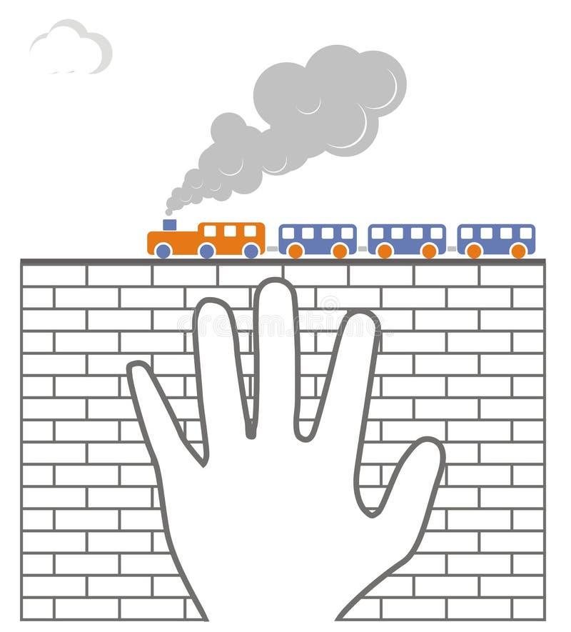 Treno illustrazione vettoriale