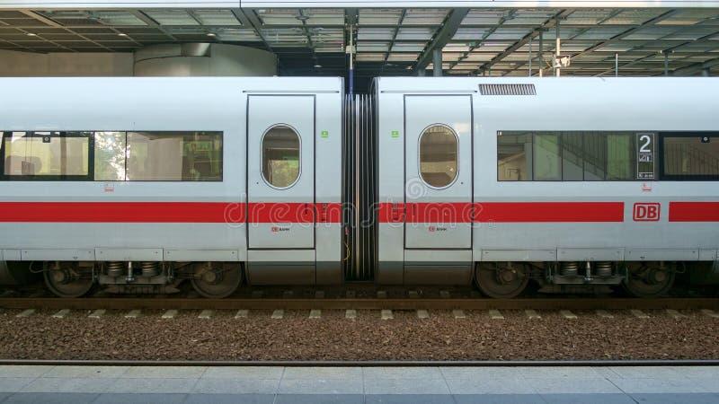 Treno del GHIACCIO a Berlin Station fotografie stock