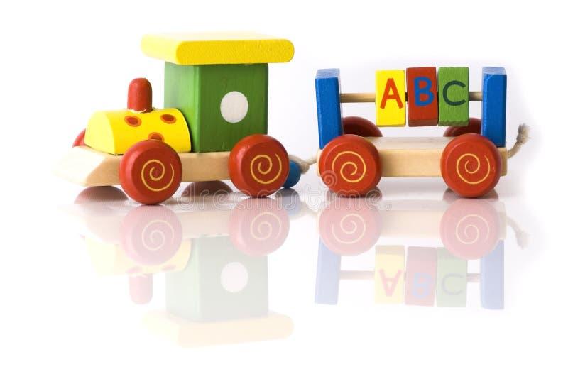 Treno del giocattolo immagine stock libera da diritti