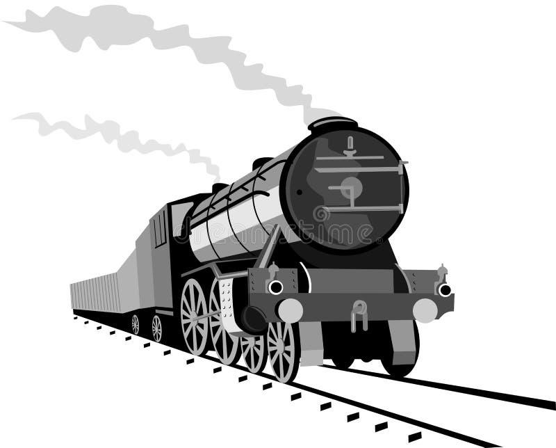 Treno del vapore fotografie stock libere da diritti