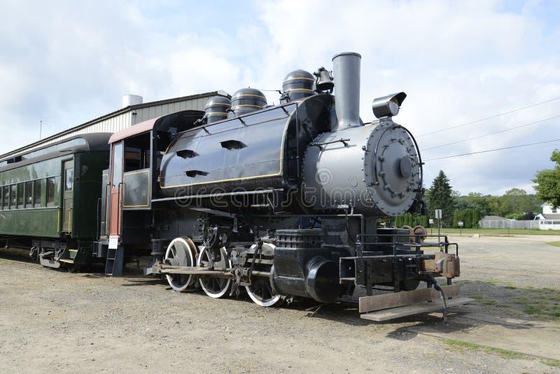 Treno del vapore di Essex immagini stock libere da diritti