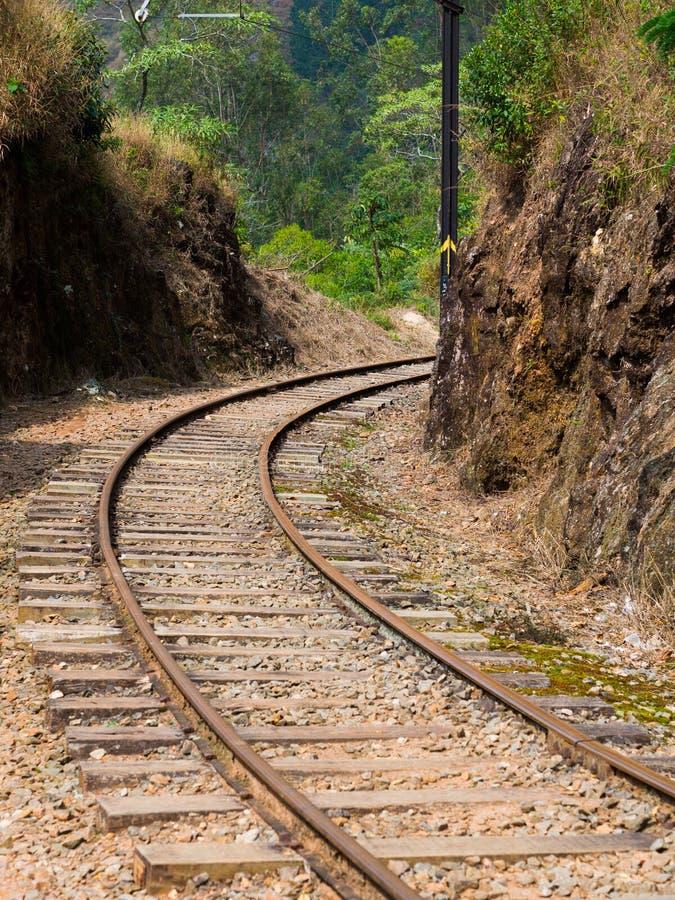 Treno della ferrovia fotografie stock libere da diritti