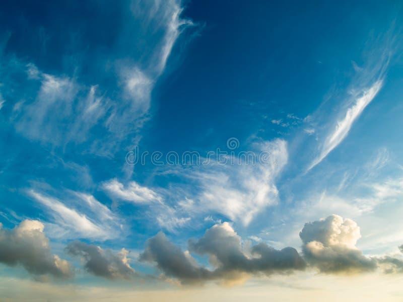 Treno della nube fotografia stock libera da diritti