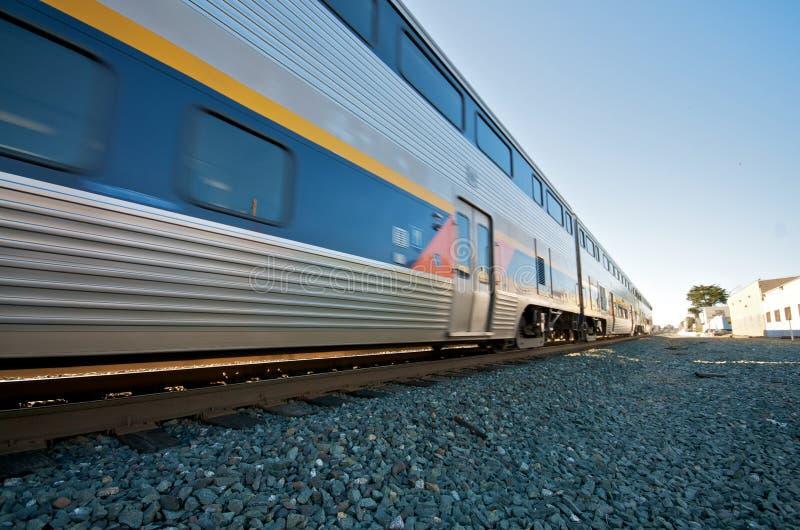 Treno di Amtrak in Berkeley immagini stock libere da diritti