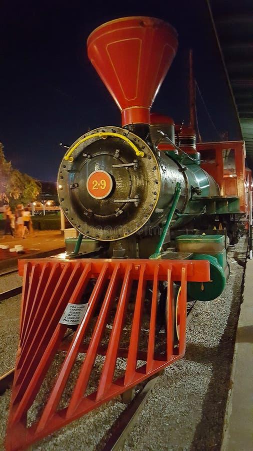 Treno di Chattanooga ChooChoo fotografia stock libera da diritti