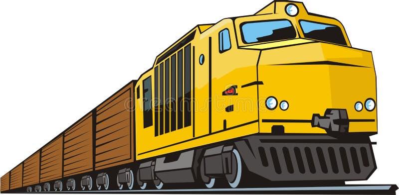 Treno di Gargo immagine stock