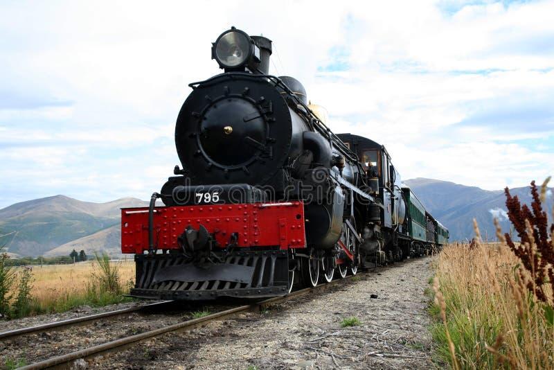 Treno di Kingston Flyer fotografia stock libera da diritti