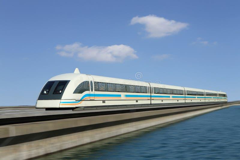 Treno di Maglev fotografia stock libera da diritti