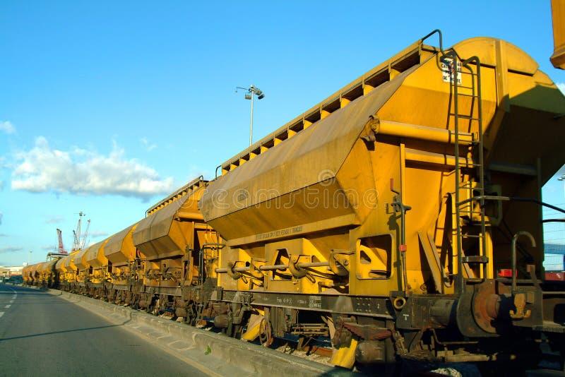 Treno di trasporto immagine stock