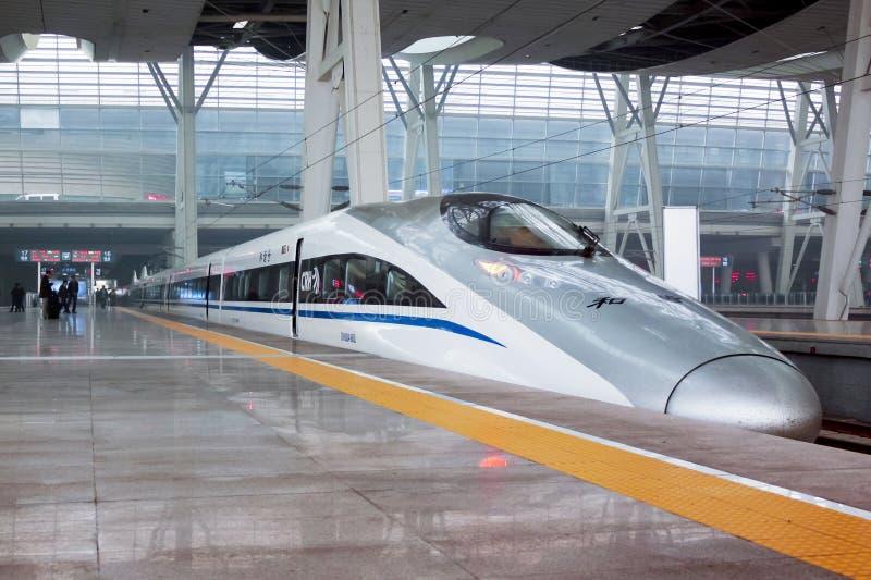Treno moderno immagini stock