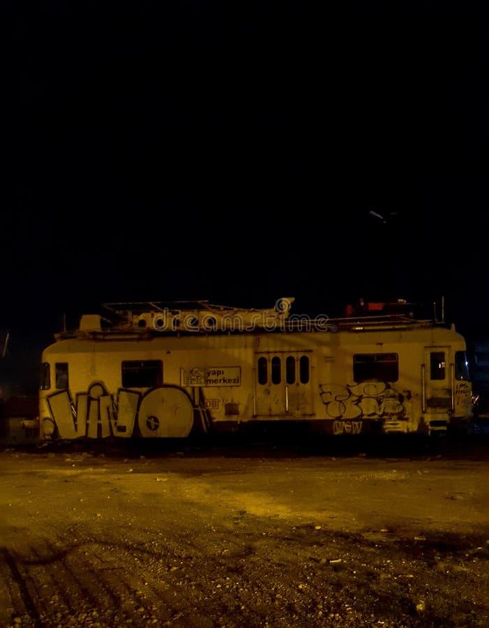 Treno morto fotografie stock libere da diritti