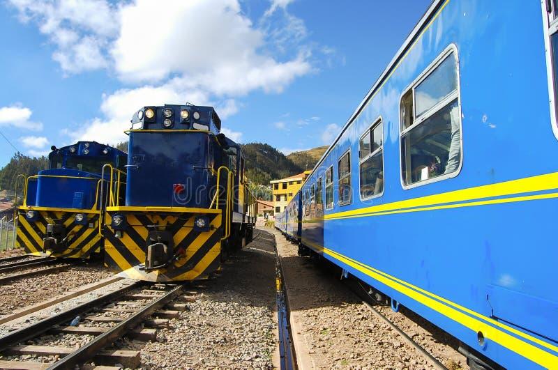 Treno - Perù fotografia stock