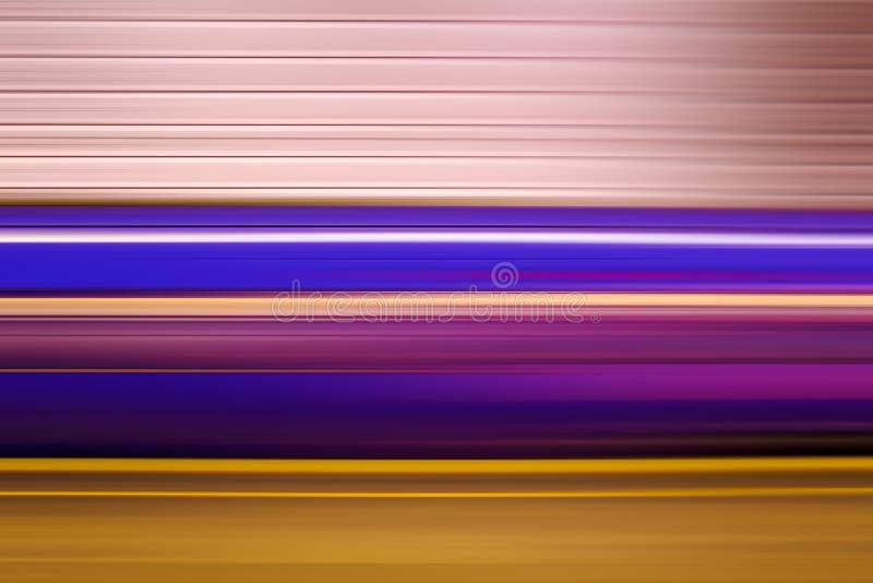 Treno sotterraneo, mosso astratto fotografia stock libera da diritti