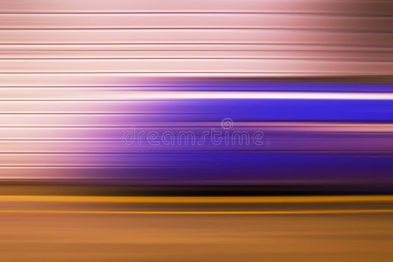 Treno sotterraneo, mosso astratto immagini stock libere da diritti