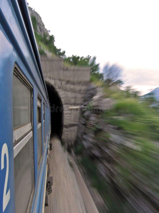 Treno veloce fotografia stock libera da diritti