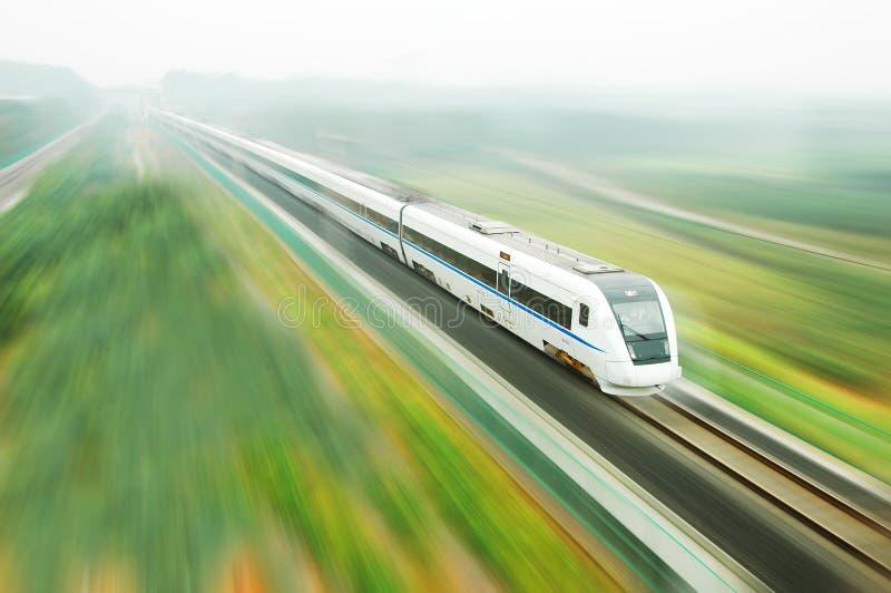Treno veloce cinese immagini stock