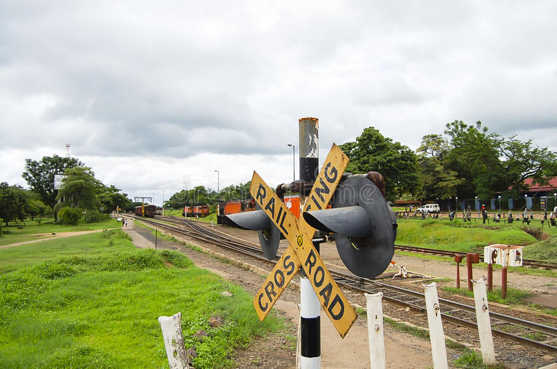 Treno - Zimbabwe immagini stock