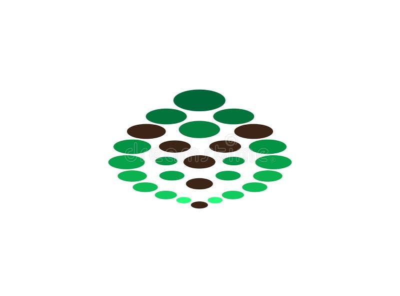 Trenowania Y abecadła ikony wektoru spirali okregów gradientowy symbol rozwoju projekta ilustrator ilustracja wektor