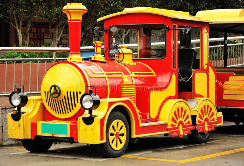 Trens antigos do dotto foto de stock royalty free