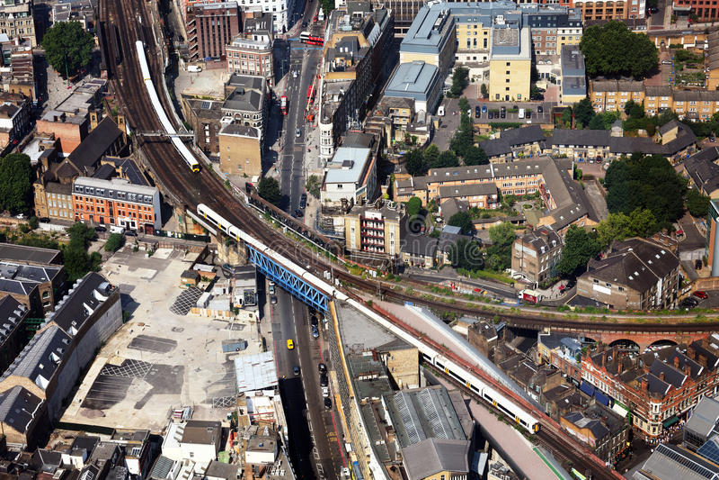 Trens de Londres fotos de stock