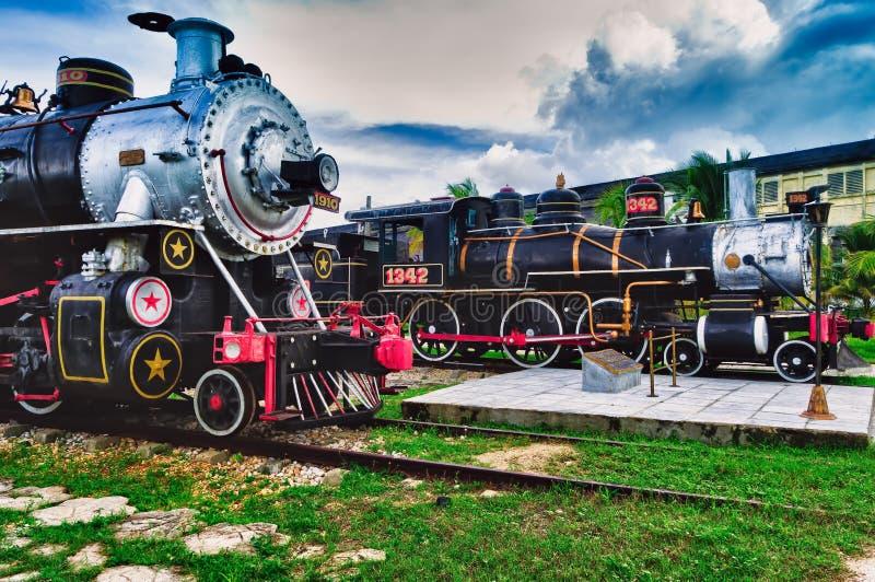 Trens do açúcar do turista, Santa Clara, foto de stock