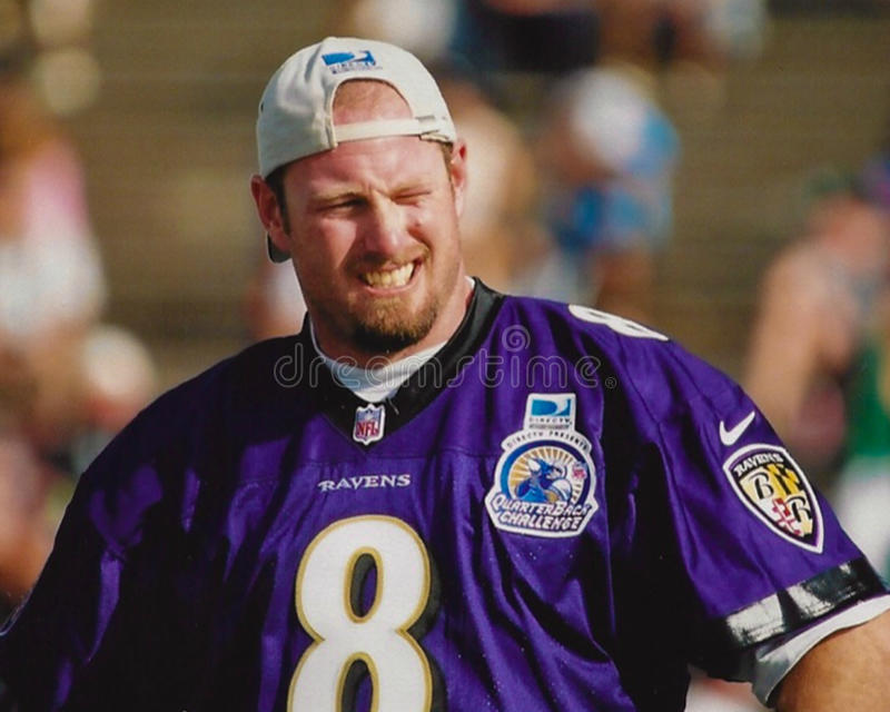 Trent Dilfer Baltimore Ravens fotos de stock royalty free