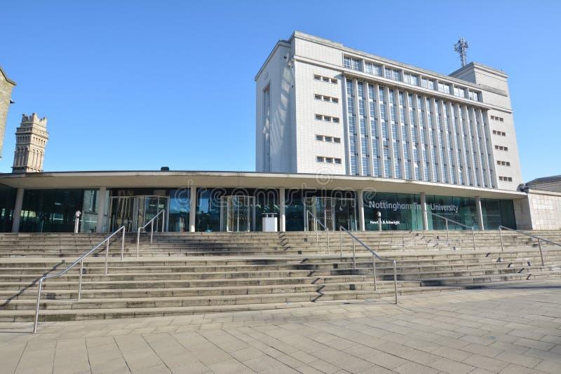 Trent University de Nottingham en Angleterre - Europe images libres de droits