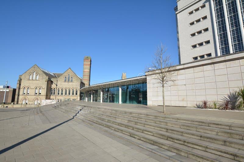 Trent University de Nottingham en Angleterre - Europe photographie stock libre de droits
