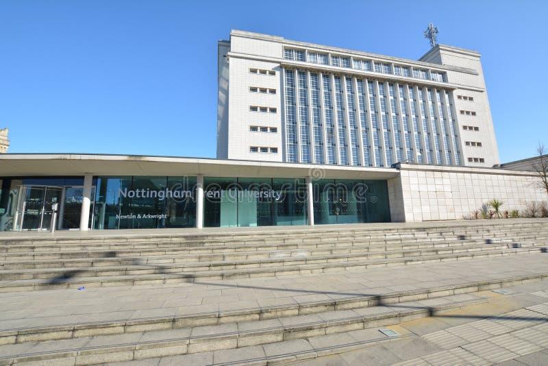 Trent University Nottingham en Angleterre - Europe photo stock