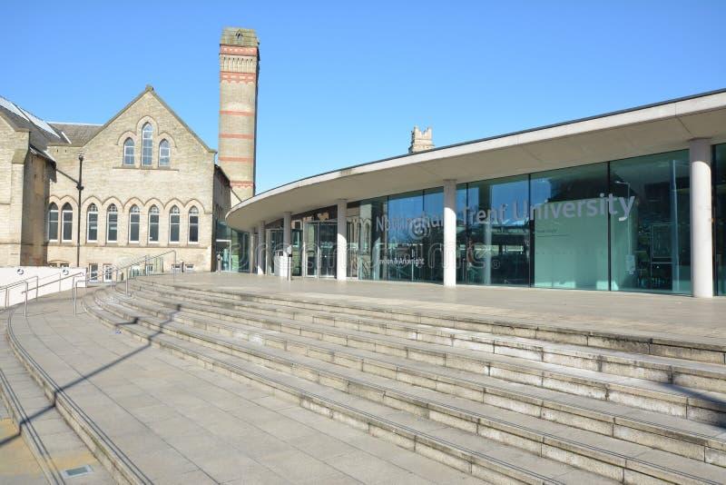Trent University Nottingham en Angleterre - Europe photos libres de droits