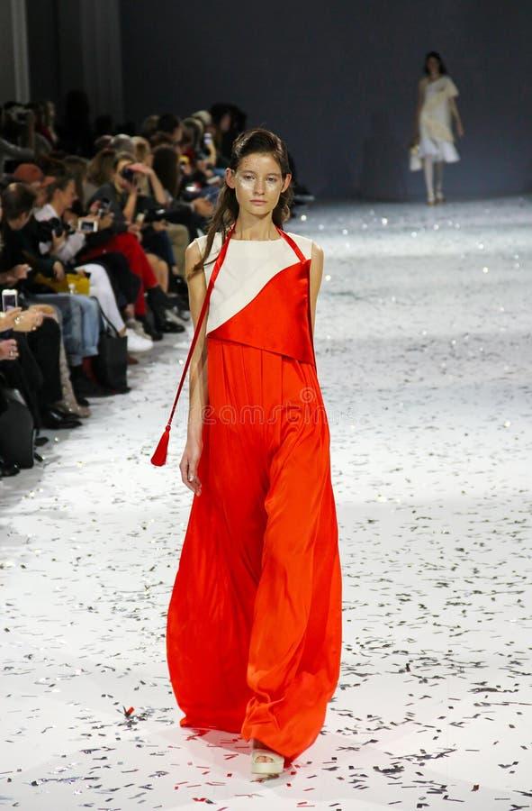 trente-neuvième semaine ukrainienne de mode dans Kyiv photos stock