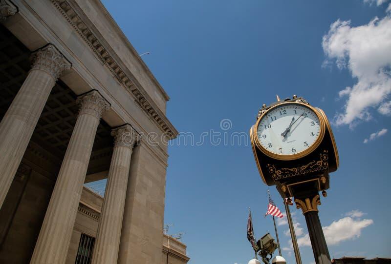 trentesima stazione ferroviaria della via in Filadelfia fotografia stock libera da diritti