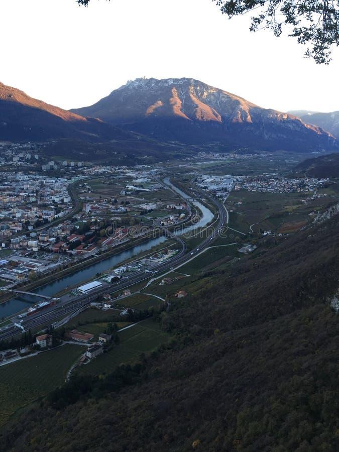 Trentino alt adige arkivfoto