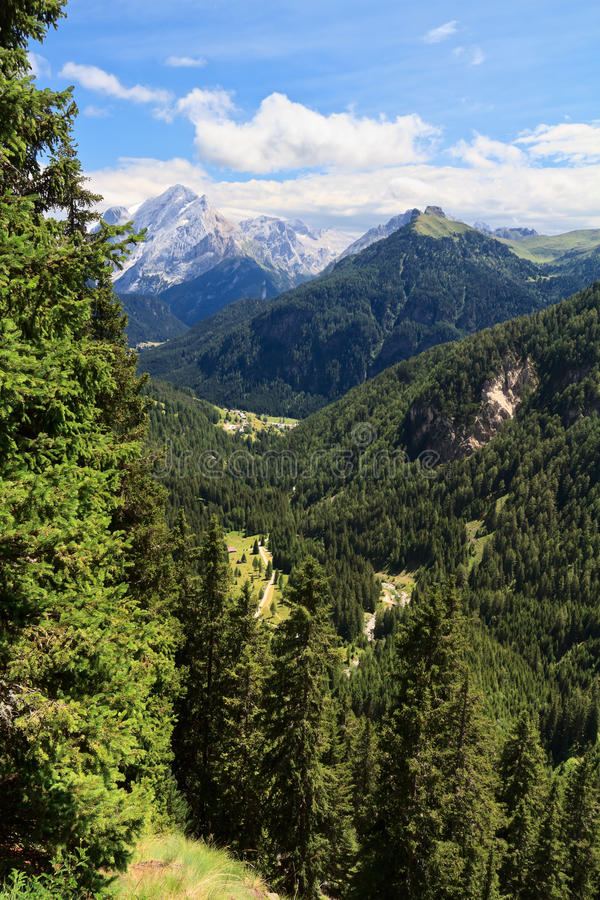 Trentino - Duron valley stock image