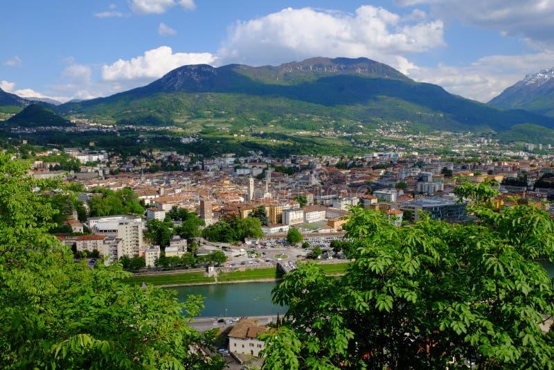 Trento stockbild