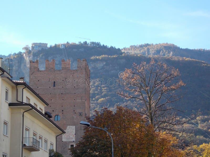 Trento, Italien stockfotos