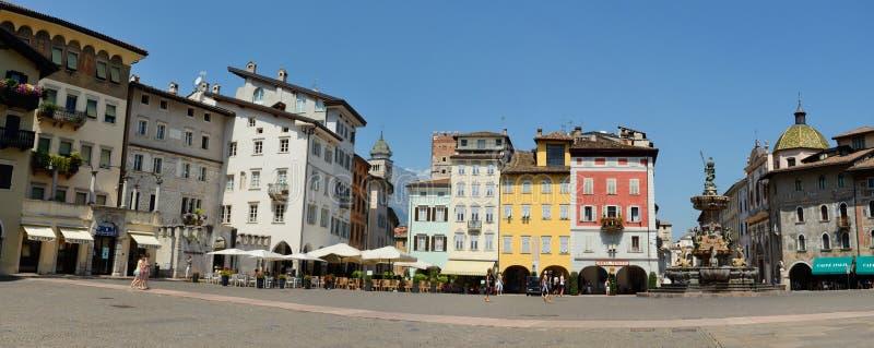 Trento panoramy zdjęcie royalty free