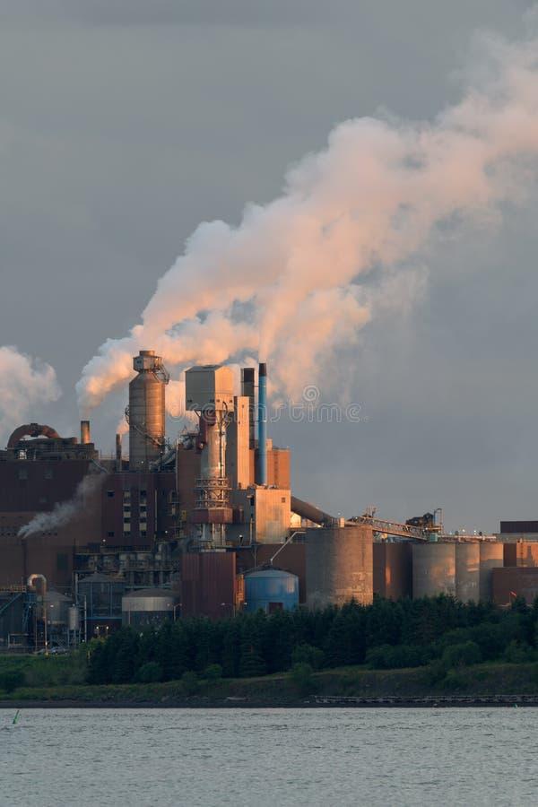Trenton Generating Station em Nova Scotia fotos de stock royalty free