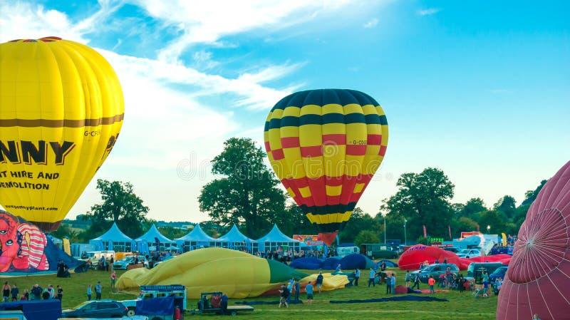 trentottesimo Bristol International Balloon Fiesta annuale fotografia stock
