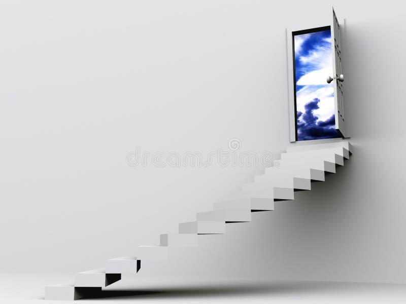 Treppe stock abbildung