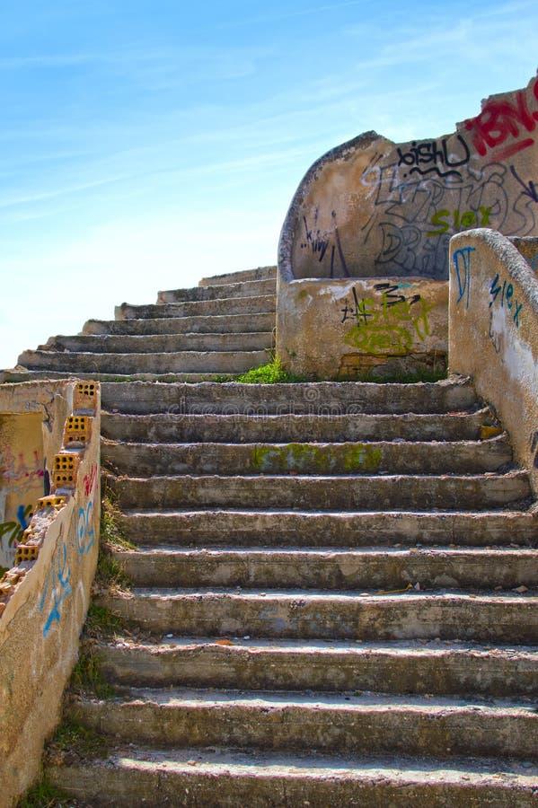 Treppe lizenzfreies stockbild