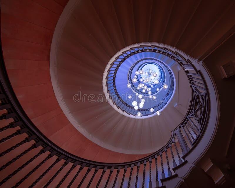 Treppe des Kaufhauses für Heal und Sohn lizenzfreie stockfotos