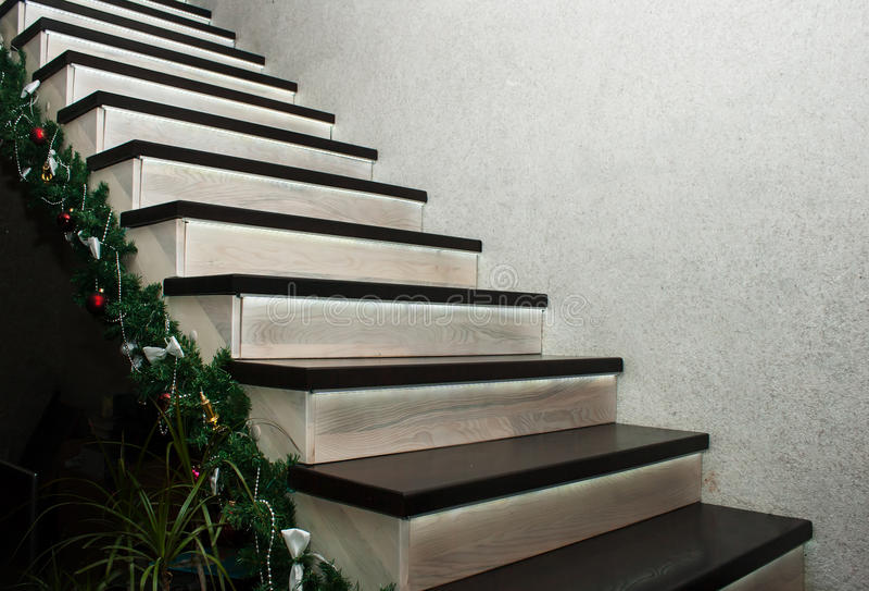 Treppe im Haus stockfoto