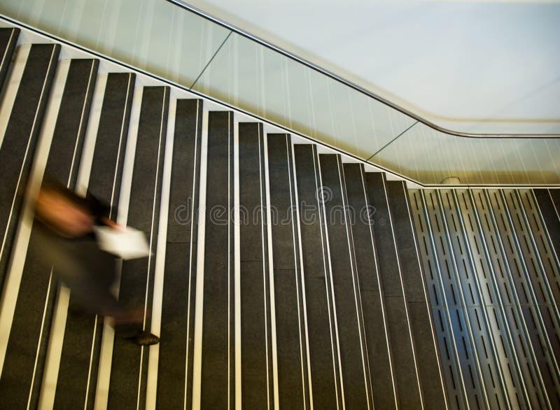 Treppe am Museum stockbilder