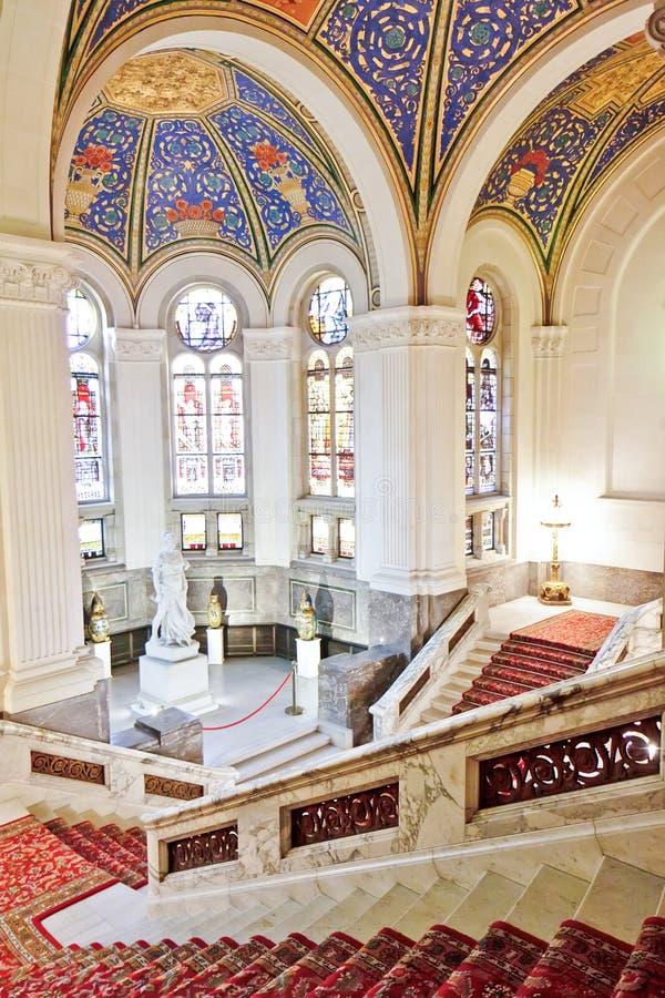 Treppen des Friedenspalastes stockfoto