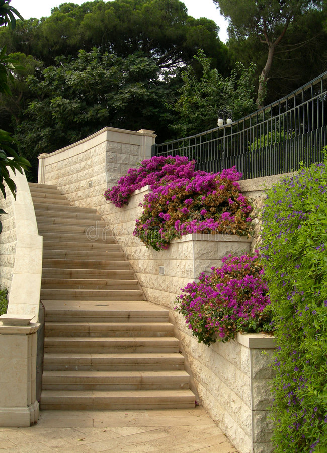 Treppen im haifa park stockfoto bild von architektur 4428818 - Treppen architektur ...