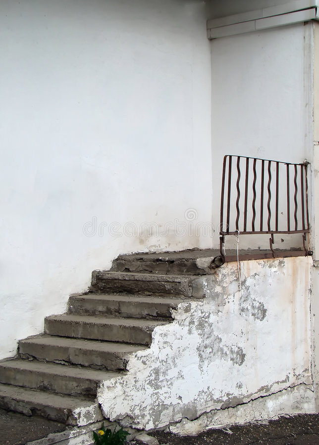 Treppen Zu Nirgendwo Stockfoto