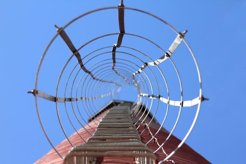 Treppen zum Himmel. stockbild