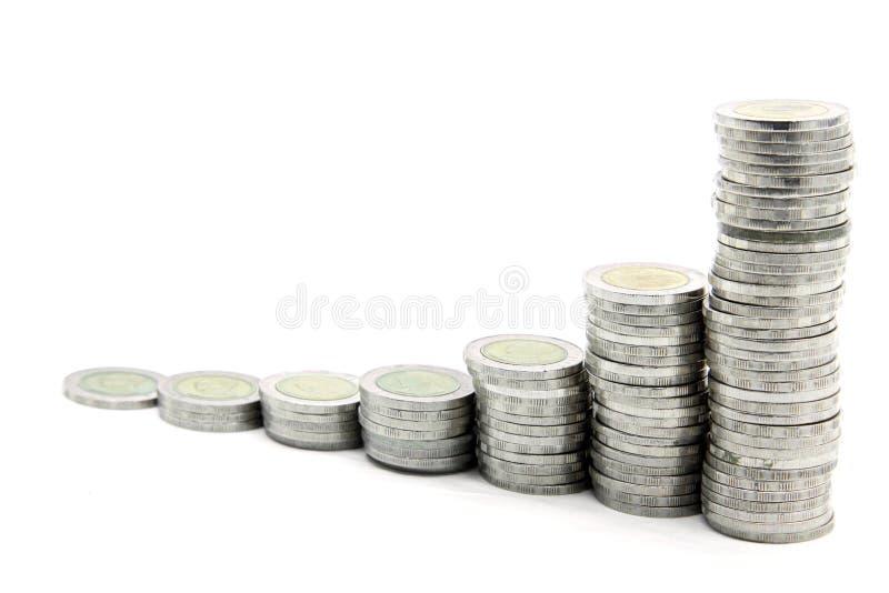 Treppen zum Reichtum lizenzfreie stockfotos