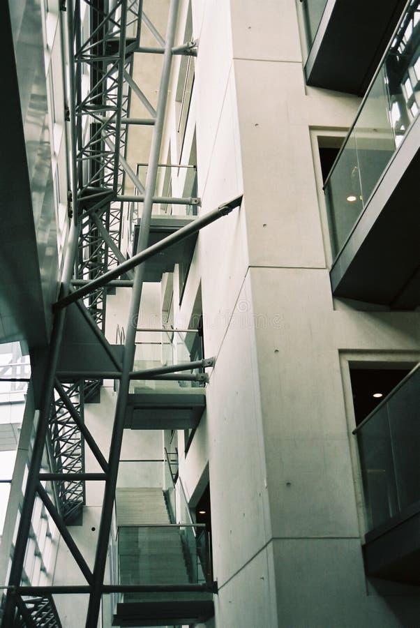 Treppenhaus 1 lizenzfreie stockbilder